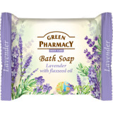 Sapun Solid cu Lavanda si Ulei de In 100g, Green Pharmacy