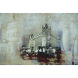 Pod in Londra- pictura in ulei OP-9, Peisaje, Realism