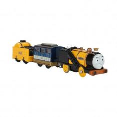 Locomotiva motorizata Stephen cu doua vagoane Thomas si Prietenii Track Master