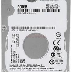 HDD Laptop Western Digital AV-25 WD5000LUCT, 500GB, SATA II, 16MB Buffer, 2.5inch