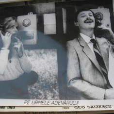Film/teatru Romania - fotografie originala (25x19) - Pe urmele adevarului