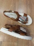 LICHIDARE STOC! Superbe sandale dama noi piele naturala fina foarte comode 39