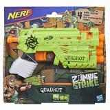Blaster Nerf Zombie Strike Quadrot, Hasbro