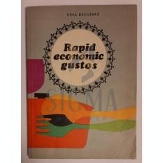 Nina Decusara - Rapid Economic Gustos