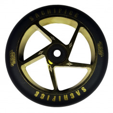 Roata Trotineta Sacrifice Delta core black/gold 120mm + Abec 11