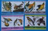 TUVALU-Fauna-PASARI-Serie -MNH, Nestampilat