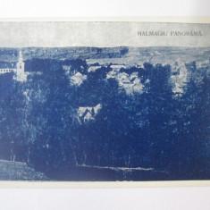 Hălmagiu(Arad),carte postala necirculata din anii 20, Printata