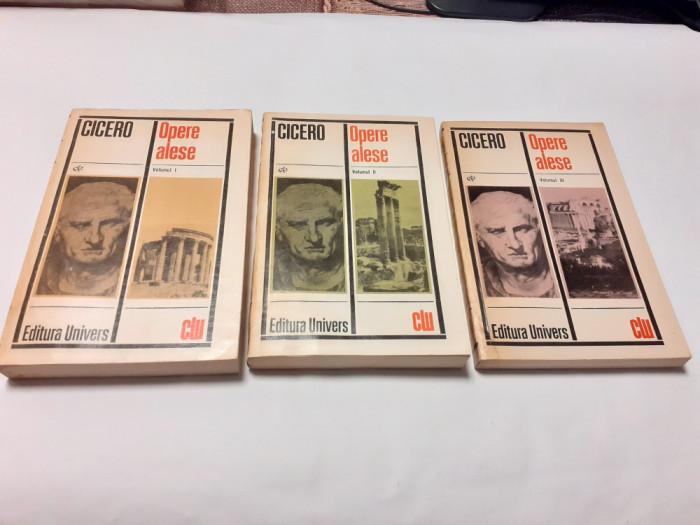 CICERO -OPERE ALESE -3 VOLUME--RF21/3