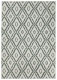 Covor Modern & Geometric Twin, Verde, 80x250, Bougari