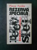 PLATON PARDAU - REZERVA SPECIALA