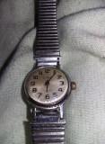 Ceas de mana vechi SLAVA,curea metalica,stare Conf.foto,blocat,T.GRATUIT