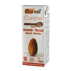 Crema Vegetala pentru Gatit de Migdale Bio Natur Ecomil 200ml Cod: EM192314