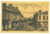 4939 - PLOIESTI, street stores, Romania - old postcard, CENSOR - used - 1917