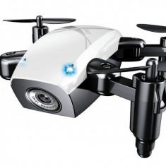 Mini Drona iUni S9, WiFi, Frecventa 2.4GHz, Alb