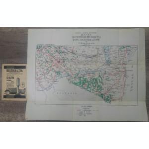 Ghidul (harta) drumurilor din Romania/ Muntenia si Dobrogea