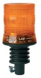 Girofar LED compact cu prindere cap de bara Din Pole si amor