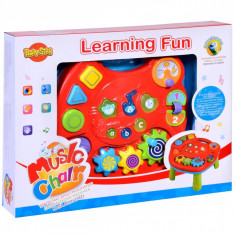 Masa interactiva pentru bebelusi cu sunete si lumini, 47x72x68 cm, multicolor