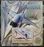 Cumpara ieftin BC299,BURUNDI, COLITA+BLOC MNH, AVIATIE, CONCORDE, Nestampilat