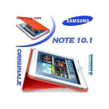 Husa piele Samsung Galaxy Note 10.1 N8000 EFC-1G2NW Orange Blist