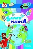 Cumpara ieftin 50 intrebari despre... Salvati planeta. Cu abtibilduri. Cu un joc pe smartphone. Set carte + Tabla de joc/***, Prestige