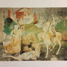 Carte postala FRESCA SF. GHEORGHE, BISERICA DIN DEAL, SIGHISOARA necirculata
