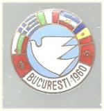 Insigna Bucuresti 1960