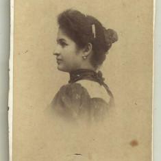 Fotografie pe carton Louis Bucuresti - anii 1900