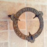 Suport spirtiera vechi vintage pirostrii fonta metal