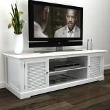 Comodă TV din lemn Alb