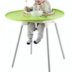 Kit hranire - Baveta si tava (Verde) PlayLearn Toys