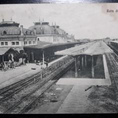 PLOIESTI GARA DE SUD - ANUL 1930 - STAMPILA DE CENZURA PLOIESTI, Circulata, Fotografie