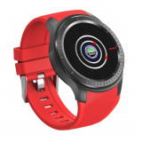 Smartwatch Telefon cu Android iUni DM368 Plus, AMOLED 1.39 inch, Wi-Fi, 4G, GPS, Bluetooth, Monitorizare Puls, Rosu