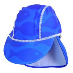 Sapca Fish blue 0- 1 ani protectie UV Swimpy for Your BabyKids