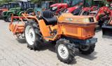 Tractor japonez folosit 17CP 4x4 cu freza de pamant