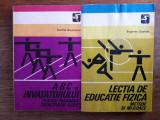 Lot 2 carti metodice pentru educatie fizica  / R3P5F