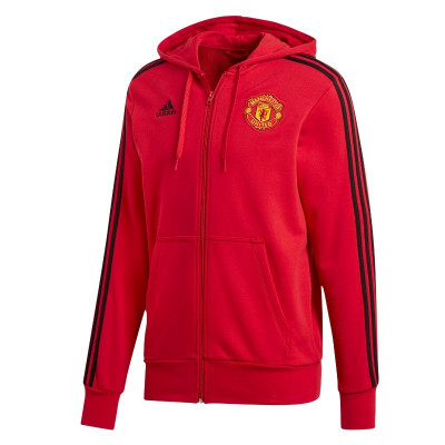 Bluza,Hanorac Adidas Manch. United 3S HD-Bluza Originala-Hanorac Barbati D95965 foto