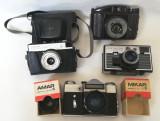 Lot aparate foto vechi cu film anii 50-70 obiecte decor