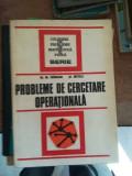 Probleme de cercetare operationala – Vranceanu