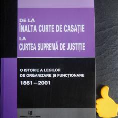 De la Inalta Curte de Casatie la Curtea Suprema de Justitie Emanuel Albu
