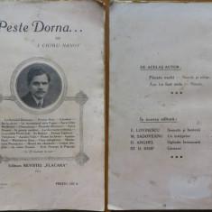 Chiru Nanov , Peste Dorna , 1911 , ed. 1 , Calatorie in Bucovina si Neamt