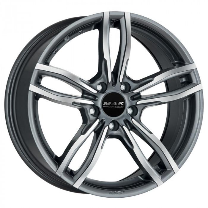 Jante BMW Seria 3 8J x 18 Inch 5X120 et34 - Mak Luft Ff Gun Met-mirror Face - pret / buc