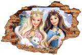 Cumpara ieftin Sticker Wall Crack Barbie 1 - 120 x 80 cm