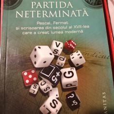 PARTIDA NETERMINATA - KEITH DEVLIN,  HUMANITAS,2010,157 PAG