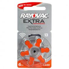 Baterii pentru proteze auditive RAYOVAC 13 PR 48 Zinc-Aer 6 baterii / set