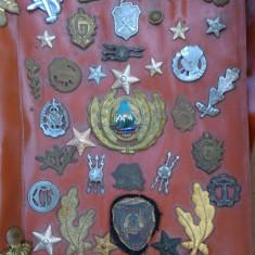 Lot insigne militare romanesti, colectie
