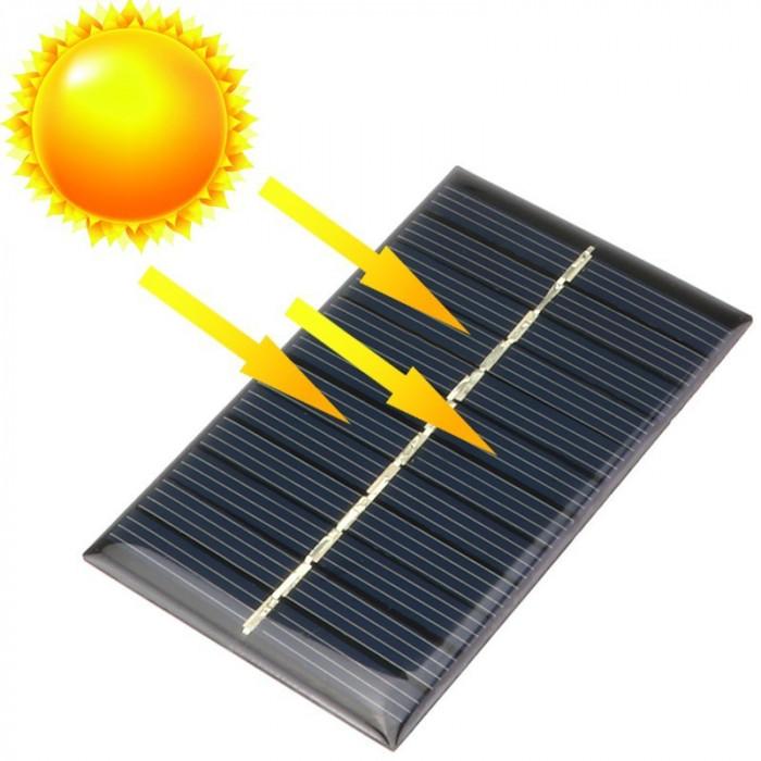 5V 0.15W 53x30mm Mini panou solar