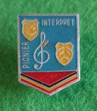 Insigna Pionier Interpret
