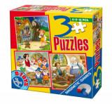 Cumpara ieftin Puzzle magnetic Basme, 3 in 1
