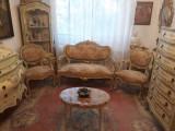 Mobila antica/salon/living baroc venetian/rococo/Louis/vintage, Sufragerii si mobilier salon, 1900 - 1949