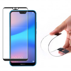 Folie Sticla Flexibila Huawei P20 Lite - Full Cover Nano Glass